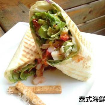 泰式海鮮磚餅